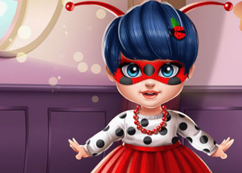 Play Miraculous Hero Baby Bath online - Screenshot 2