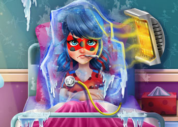 Play Miraculous Ladybug Flu Doctor online - Screenshot 1