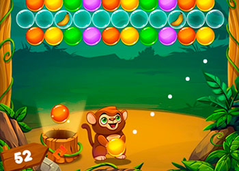 Play Monkey Bubble Shooter online - Screenshot 2