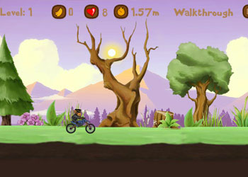 Play Monkey Motocross Island 2 online - Screenshot 1