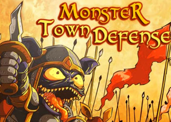 Play Monster Town Defense online - Screenshot 1