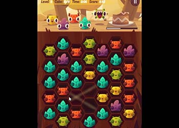Play Monsters and Cake online - Screenshot 2
