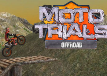 Play Moto Trials Offroad online - Screenshot 1