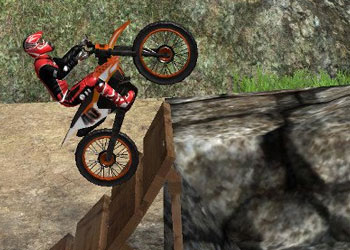 Play Moto Trials Offroad online - Screenshot 2