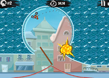 Play Moto X3M 4 Winter online - Screenshot 1