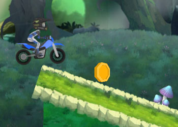 Play Motocross Forest Challenge 2 online - Screenshot 2