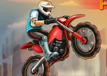 Play MotoX Fun Ride online - Screenshot 1