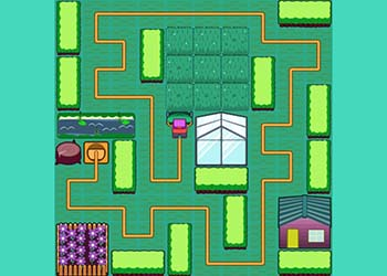Play Mow It! Lawn Puzzle online - Screenshot 1