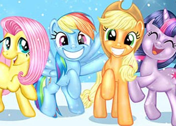 Play My Little Pony New Year Party online - Screenshot 1