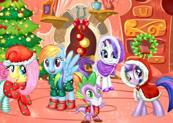 Play My Little Pony New Year Party online - Screenshot 2