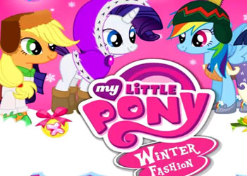 Play My Little Pony Winter Fashion online - Screenshot 1