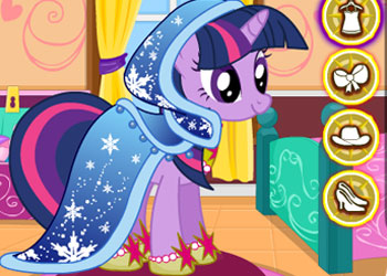 Play My Little Pony Winter Fashion online - Screenshot 2