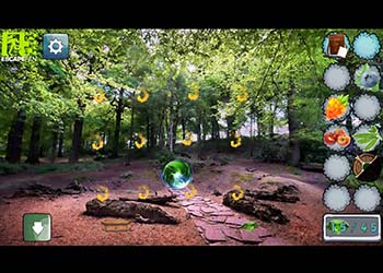 Play Mystic Sunset Forest online - Screenshot 2
