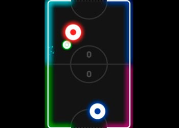 Play Neon Hockey online - Screenshot 1