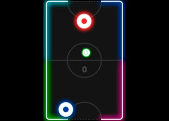 Play Neon Hockey online - Screenshot 2