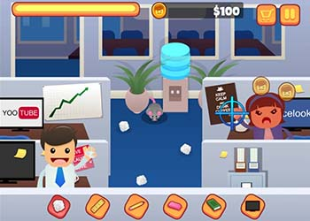 Play Office Fight online - Screenshot 1