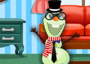Play Olafs Stuffed Snowman Shop online - Screenshot 1