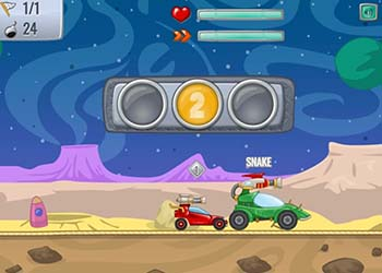 Play Paintball Racers online - Screenshot 2