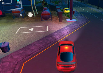 Play Parking Fury 3D Night Thief online - Screenshot 1