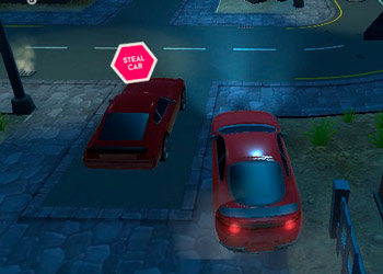 Play Parking Fury 3D Night Thief online - Screenshot 2
