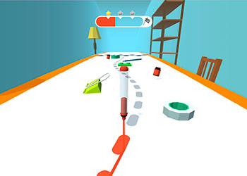 Play Pen Run 2 online - Screenshot 1