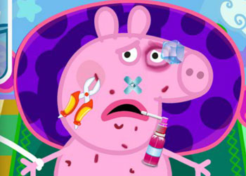 Play Peppa Pig Injured online - Screenshot 1