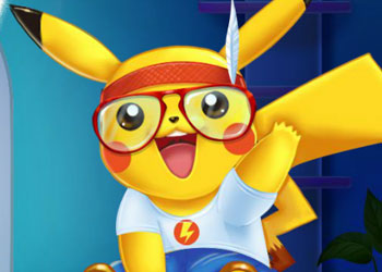 Play Pikachu Doctor And Dress Up online - Screenshot 1