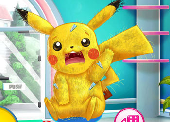 Play Pikachu Doctor And Dress Up online - Screenshot 2