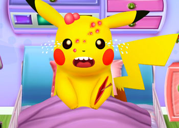 Play Pikachu Emergency Room online - Screenshot 1