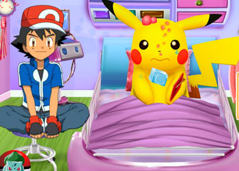 Play Pikachu Emergency Room online - Screenshot 2