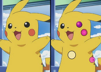 Play Pikachu Find Difference online - Screenshot 2