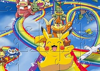 Play Pikachu Jigsaw online - Screenshot 2