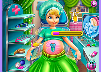 Play Pixie Pregnant Check Up online - Screenshot 1