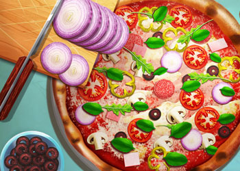Play Pizza Reallife Cooking online - Screenshot 1