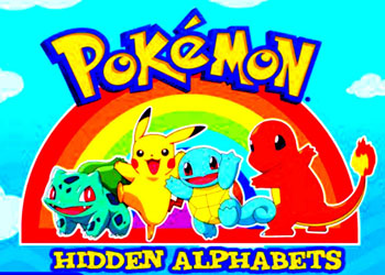 Play Pokemon Hidden Alphabets online - Screenshot 1