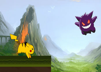 Play Pokemon Run online - Screenshot 2