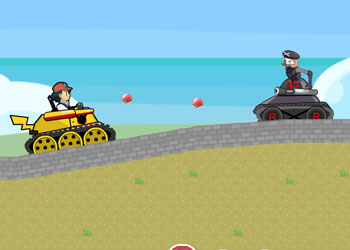 Play Pokemon Tank Battle online - Screenshot 2