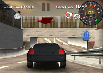 Play Police vs Thief: Hot Pursuit game online - Screenshot 2