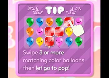 Play Pop Pop Rush online - Screenshot 1
