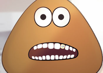 Play Pou Bad Teeth online - Screenshot 2