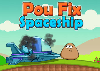 Play Pou Fix Spaceship online - Screenshot 1