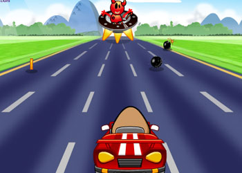 Play Pou Karting online - Screenshot 2