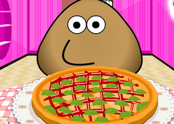 Play Pou Pizza Chef online - Screenshot 2