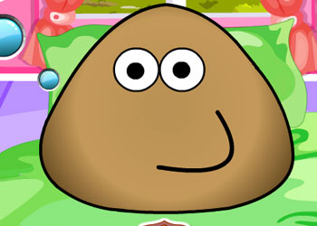 Play Pou Takes a Shower online - Screenshot 2