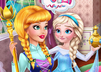 Play Prank the Nanny: Baby Elsa Frozen online - Screenshot 1