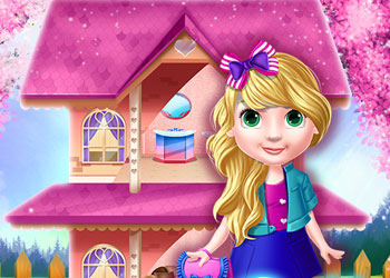 Play Princess Doll House Decoration online - Screenshot 1