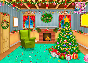 Play Princess Perfect Christmas online - Screenshot 1