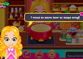 Play Princess Soup Kitchen online - Screenshot 1