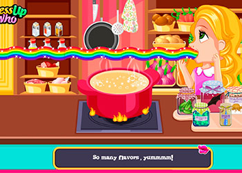 Play Princess Soup Kitchen online - Screenshot 2