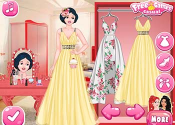Play Princesses Graduation Party Night online - Screenshot 1